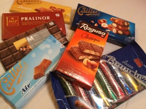 Chocolates From Our Trip, Geneva, Switzerland