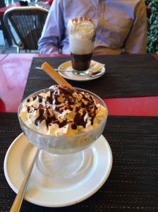 Dessert, Le Flore, Geneva, Switzerland