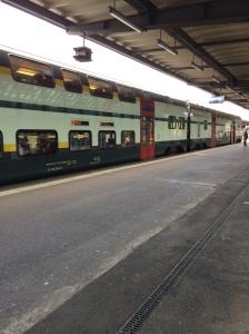 Double Decker Train, Gare De Geneve Cornavin, Switzerland