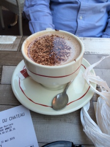 Hot Chocolate, Creperie Du Chateau, Annecy, France