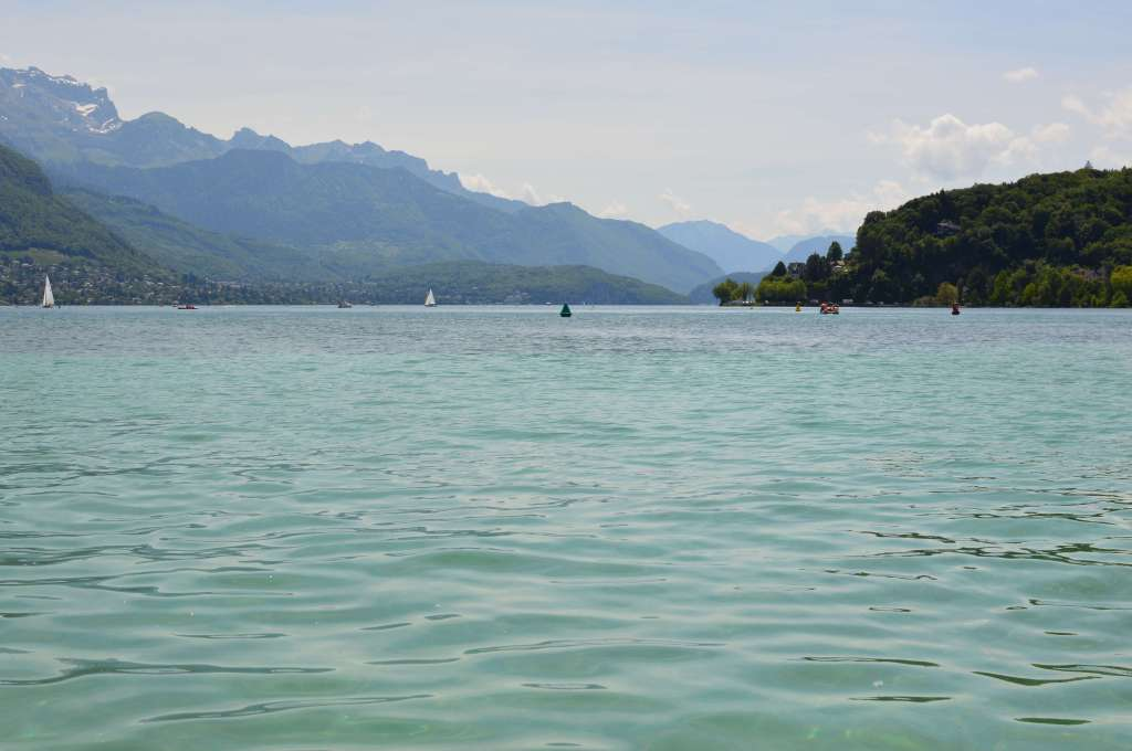 Le lac d'Annecy, Annecy, France (3)