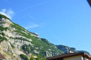 Looking Up At Mont Saleve