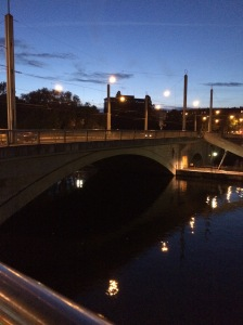 Nightfall, Pont de Sous-Terre, Geneva, Switzerland (2)