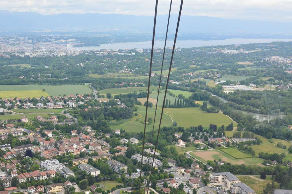 On The Way Up, Cable Cars, Mont Saleve, France