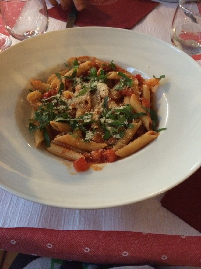 Penne All'Arrabbiata, Pizzeria Da Paolo, Geneva, Switzerland