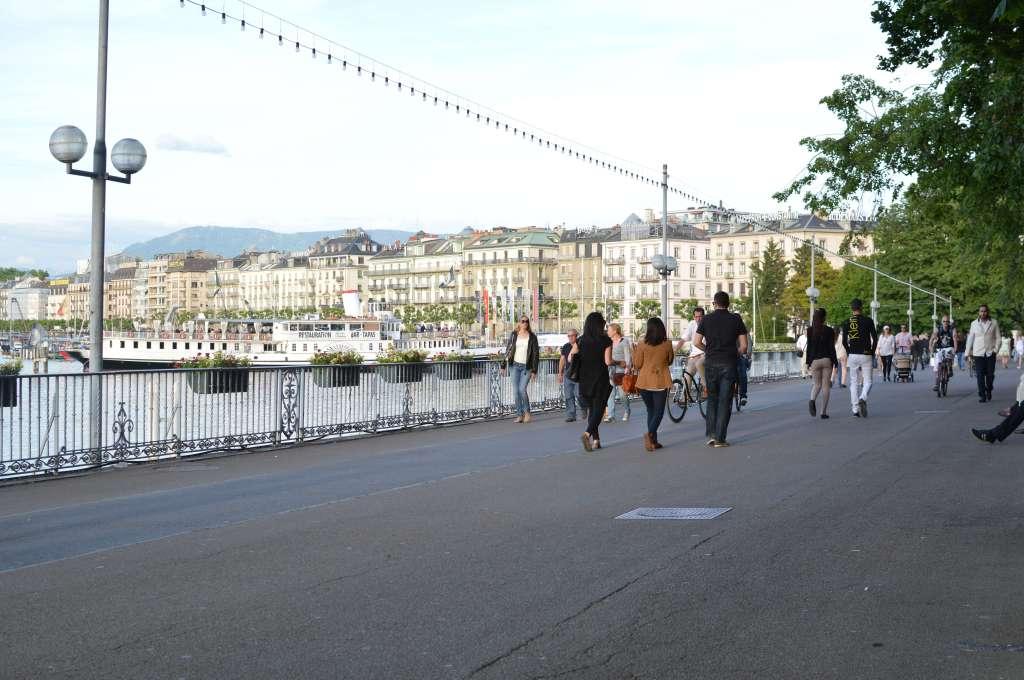 Quai Gustave Ador, Geneva, Switzerland