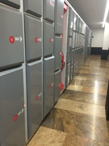 Storage Lockers, Gare Du Cornavin, Geneva Station, Geneva, Switzerland