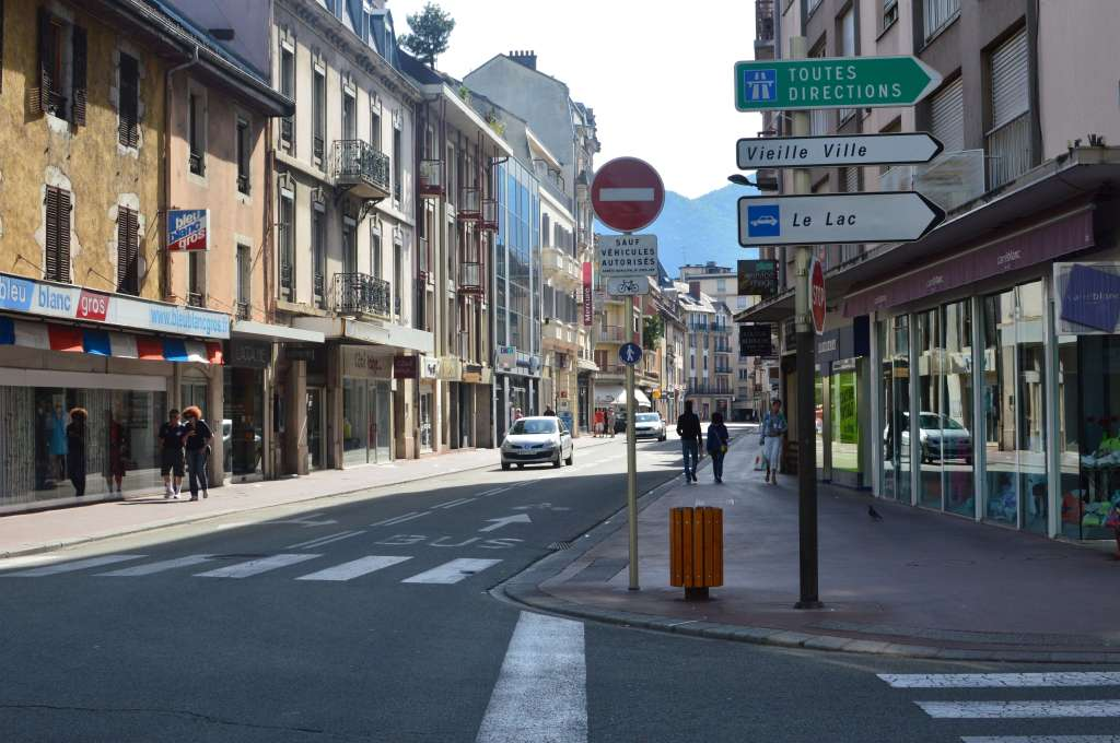 Streets, Annecy, France