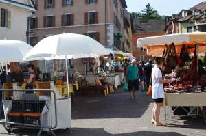 Sunday Market, Annecy, France