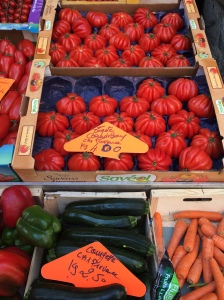 Tomatoes, Sunday Market, Annecy, France