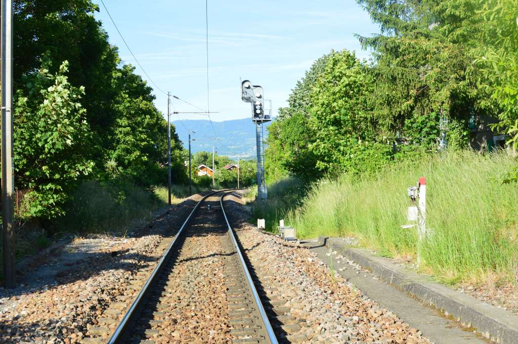 Traintracks, Geneva, Switzerland
