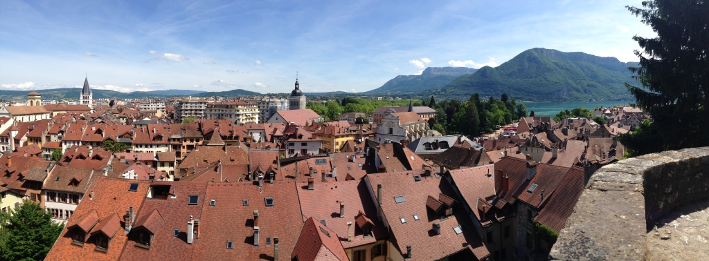 View From Musee Chateau, Annecy, France (2)