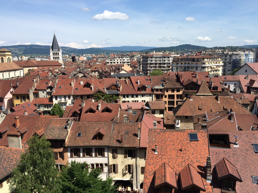 View From Musee Chateau, Annecy, France