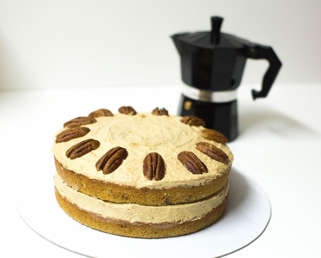Maple, Pecan & Coffee Cake