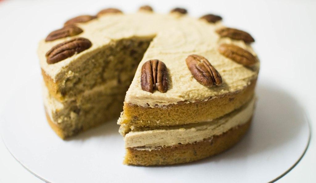 Pecan, Maple & Coffee Cake