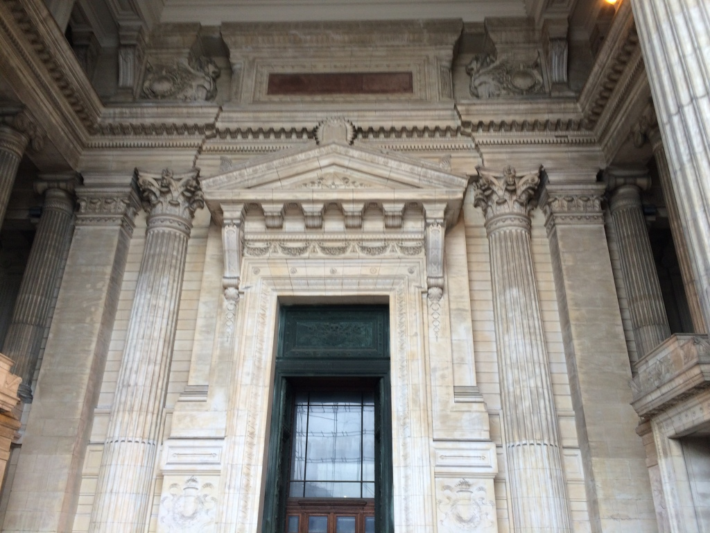 Architecture, Justice Palace, Palais de Justice, Brussels, Belgium