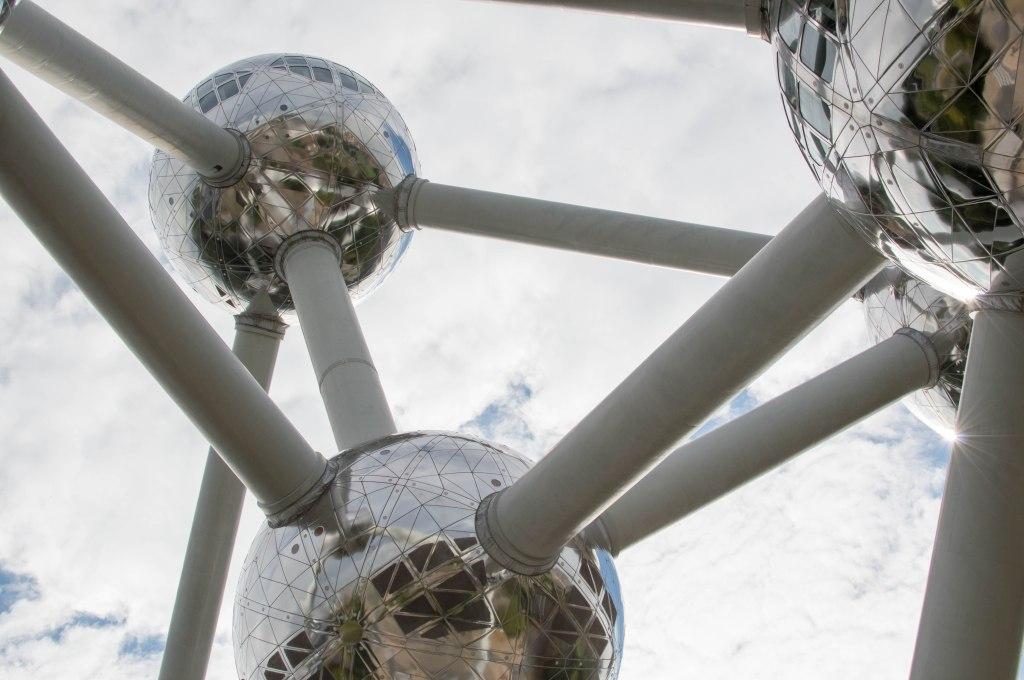 Atomium Structure In Brussels, Belgium