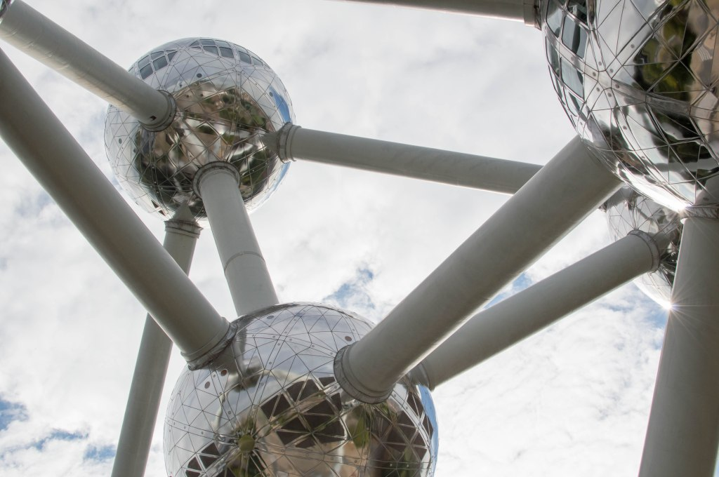 Atomium Structure In Brussels, Belgium