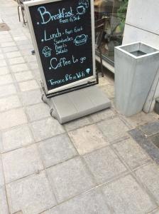 Bocca Moka Signboard, Brussels, Belgium