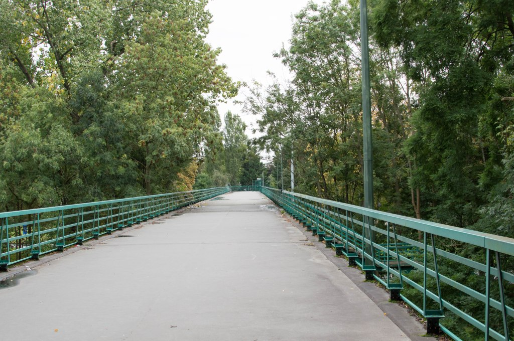 Bridge To Hayvel Tram Stop