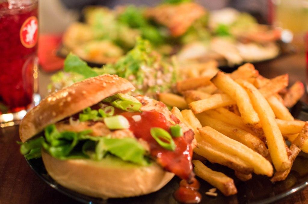 Chicken Mezcal Burger At L'Amour Fou, Brussels, Belgium