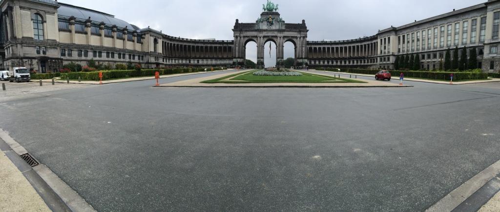 Cinquantenaire Panoramic, Brussels, Belgium