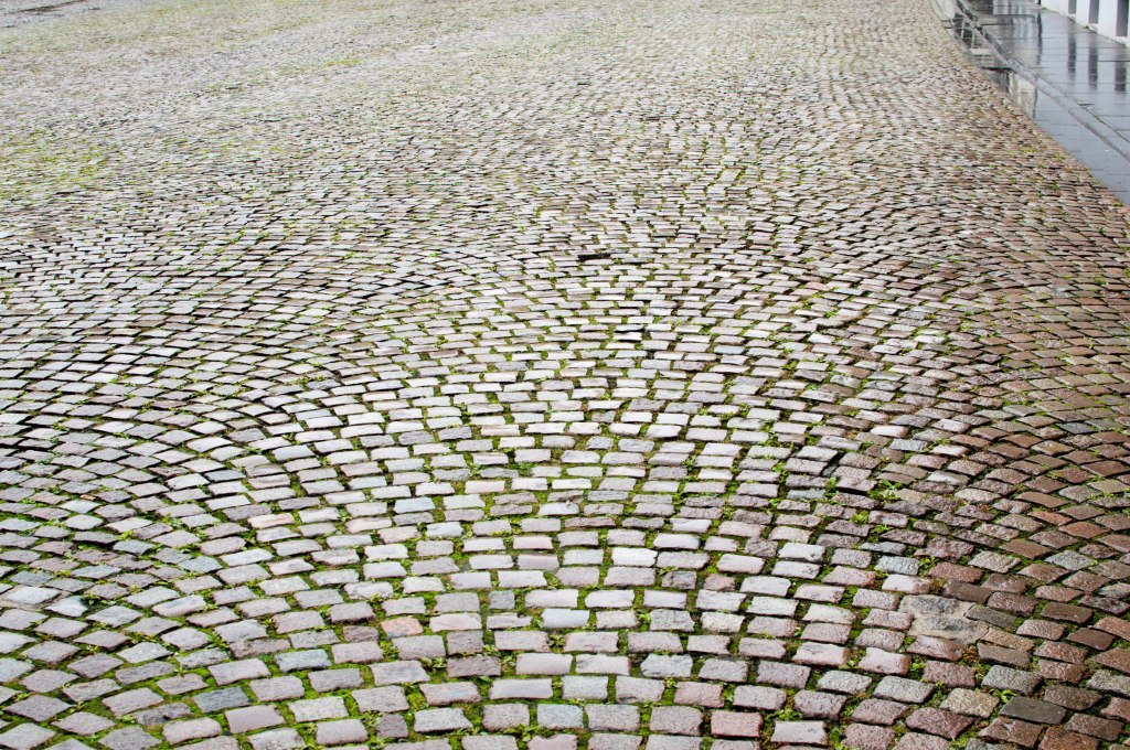 Cobbled Streets, Brussels, Belgium