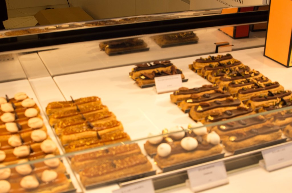 Eclaires In The Window, Pierre Marcolini, Brussels, Belgium