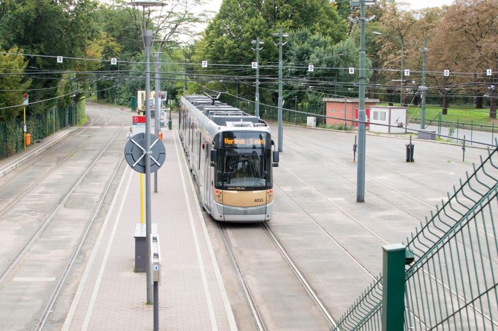 Heysel Tram Stop, Brussels, Belgium