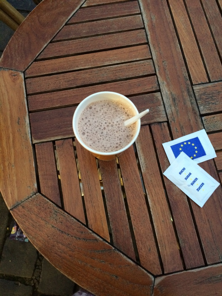 Hot Chocolate, Le Sevan, Brussels, Belgium