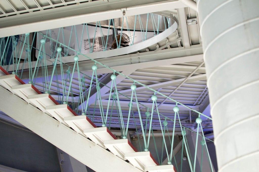 Interior, The Atomium, Brussels, Belgium