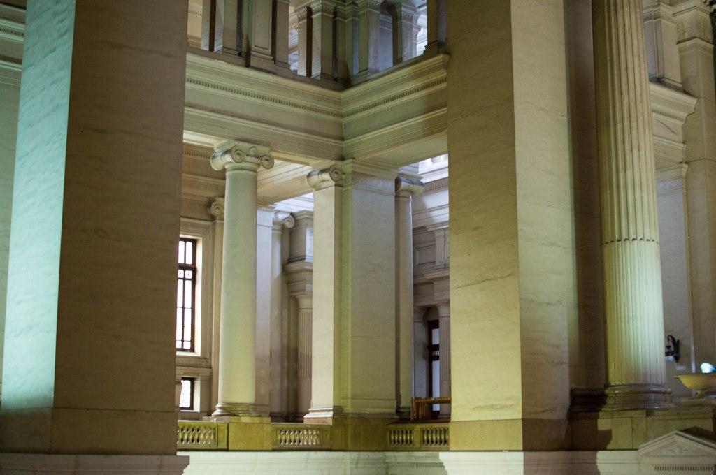 Interiors, Justice Palace, Palais de Justice, Brussels, Belgium