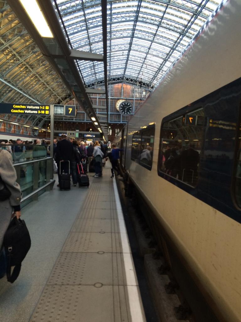 Kings Cross St Pancras, Eurostar Arrivals