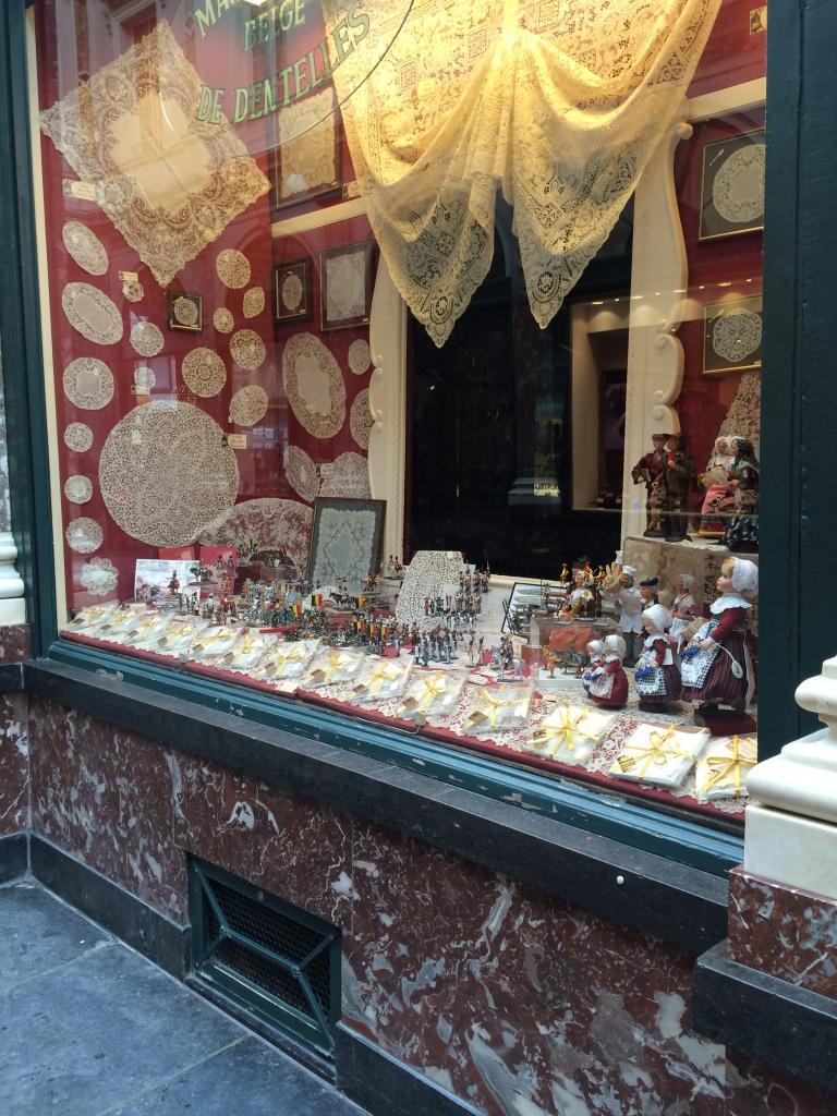 Lace Shop, Brussels, Belgium