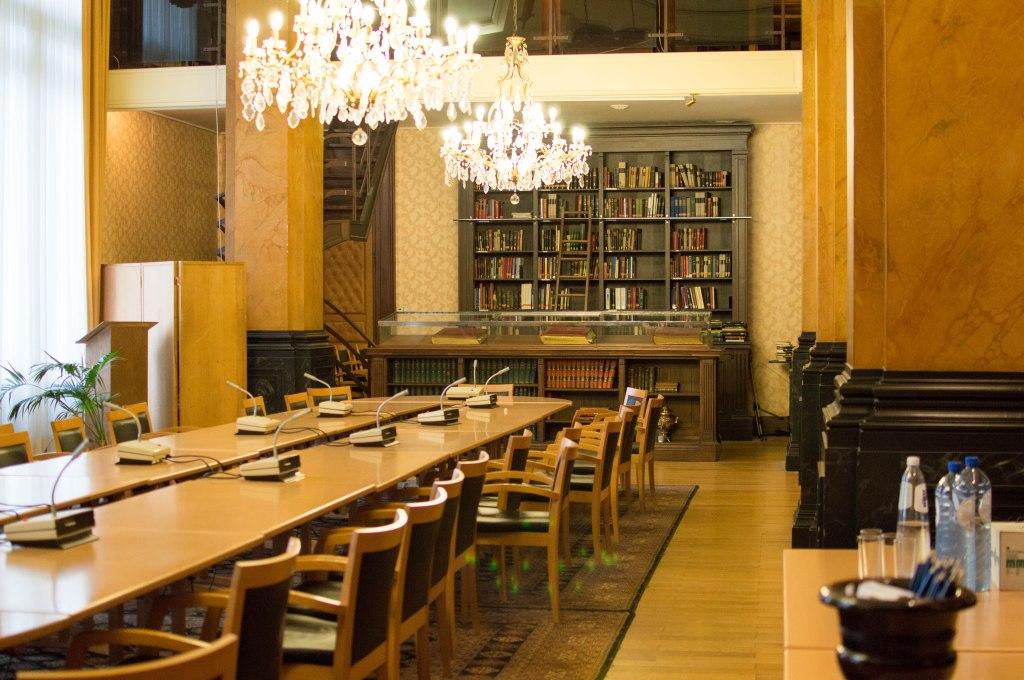 Library, Justice Palace, Palais de Justice, Brussels, Belgium