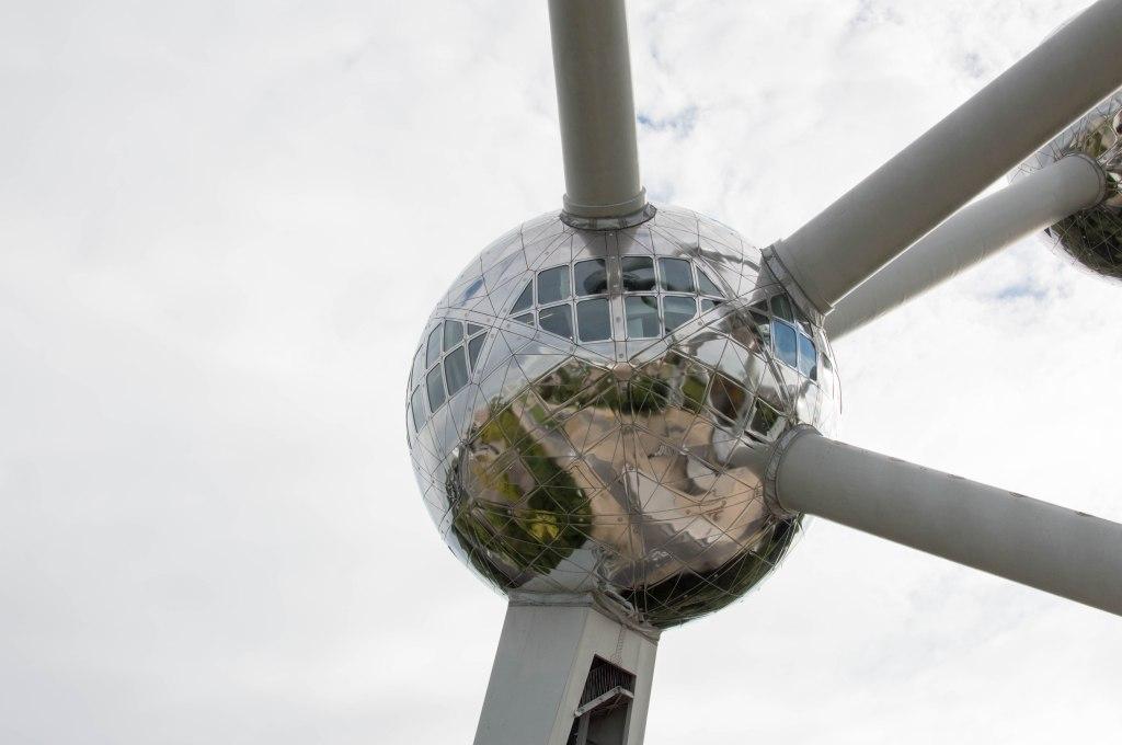 Looking Up, The Atomium, Brussels, Belgium