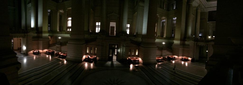 Main Hall, Justice Palace, Palais de Justice, Brussels, Belgium