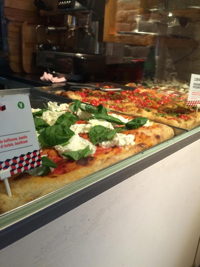 Mamma Roma, Pizza Selection, Brussels, Belgium