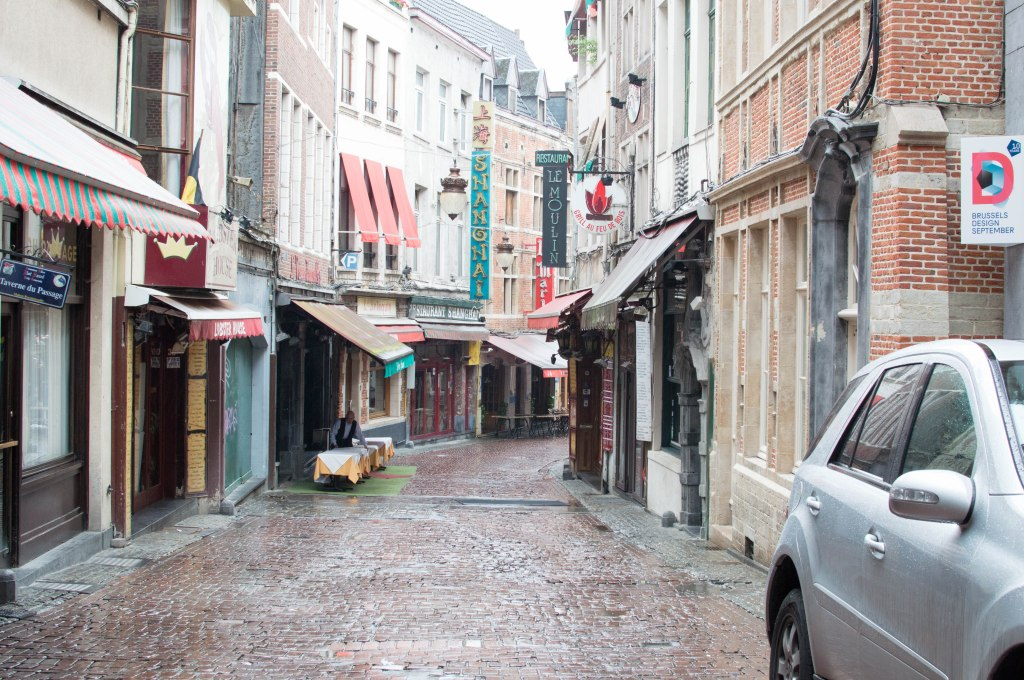 Rue Des Bouchers, Brussels, Belgium (2)