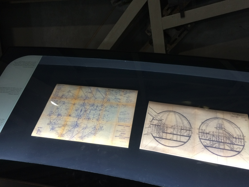Sketches And Plans For The Atomium, Brussels, Belgium