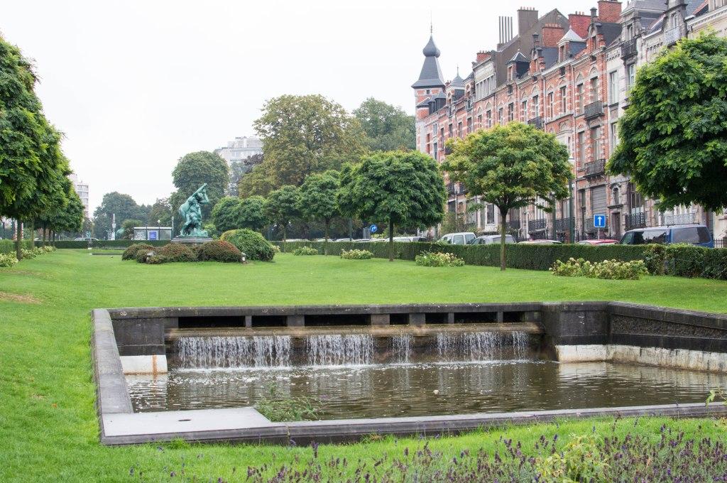 Square Ambiorix, Brussels, Belgium