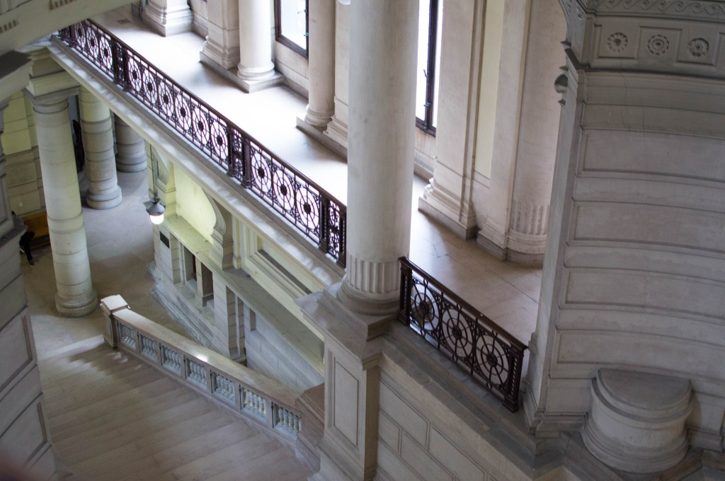 Stairs In The Justice Palace, Palais de Justice, Brussels, Belgium