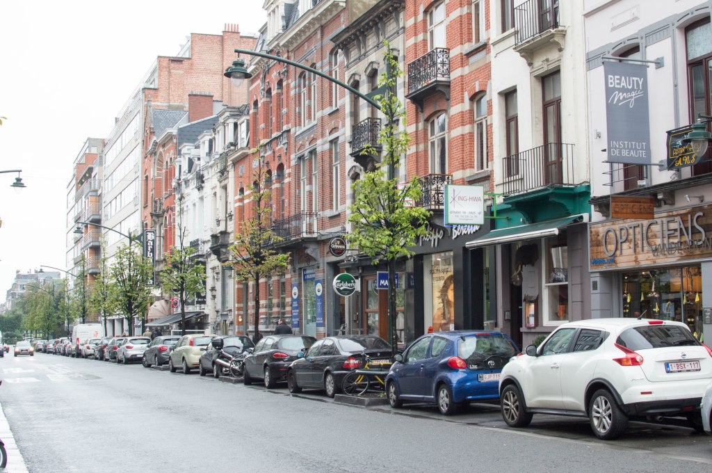 Streets of Brussels, Belgium (2)