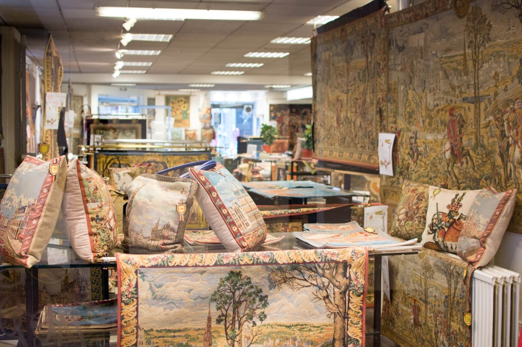 Tapestry Shop, Brussels, Belgium