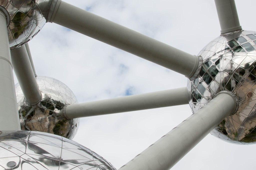 The Atomium Structure, Brussels, Belgium