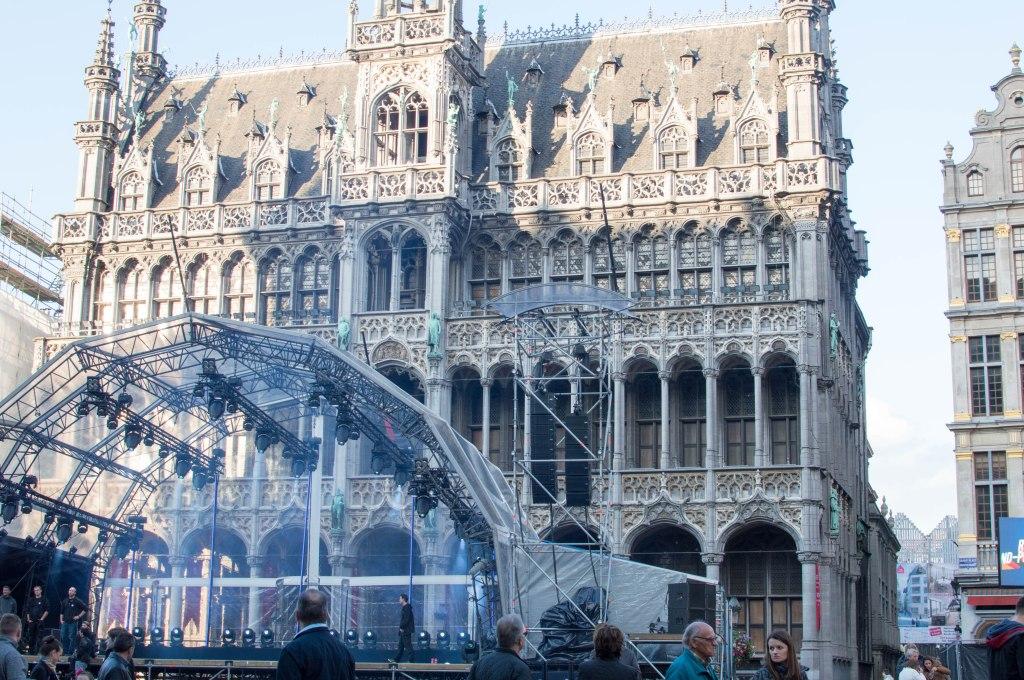 Town Hall (Hotel de Ville), Brussels, Belgium (2)