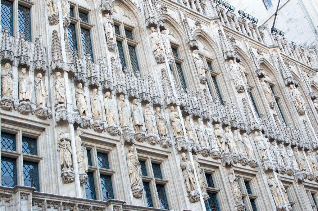 Town Hall (Hotel de Ville), Brussels, Belgium
