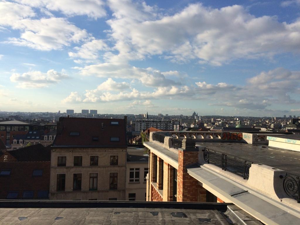 View From Ascenseur des Marolles, Brussels, Belgium