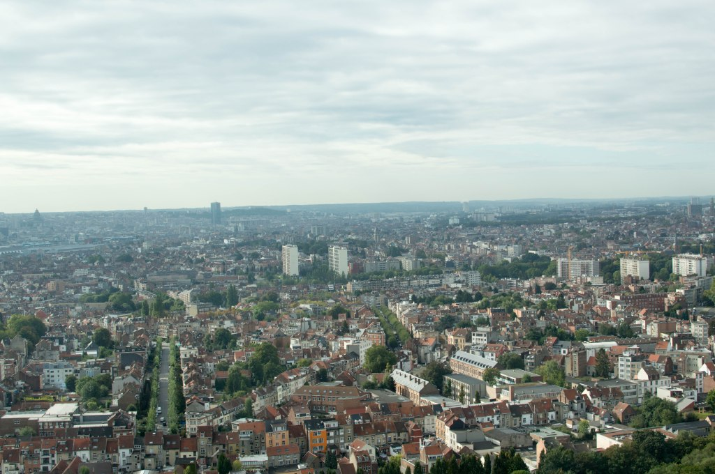 View From The Top Of The Atomium, Brussels, Belgium (2)
