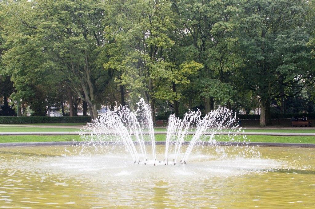 Water Fountain, Cinquantenaire